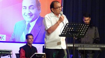 Rajiv Singbal the Goan voice of Mohd. Rafi