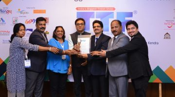 Goa Tourism Bags Best Stall Décor Award at TTF Kolkatta