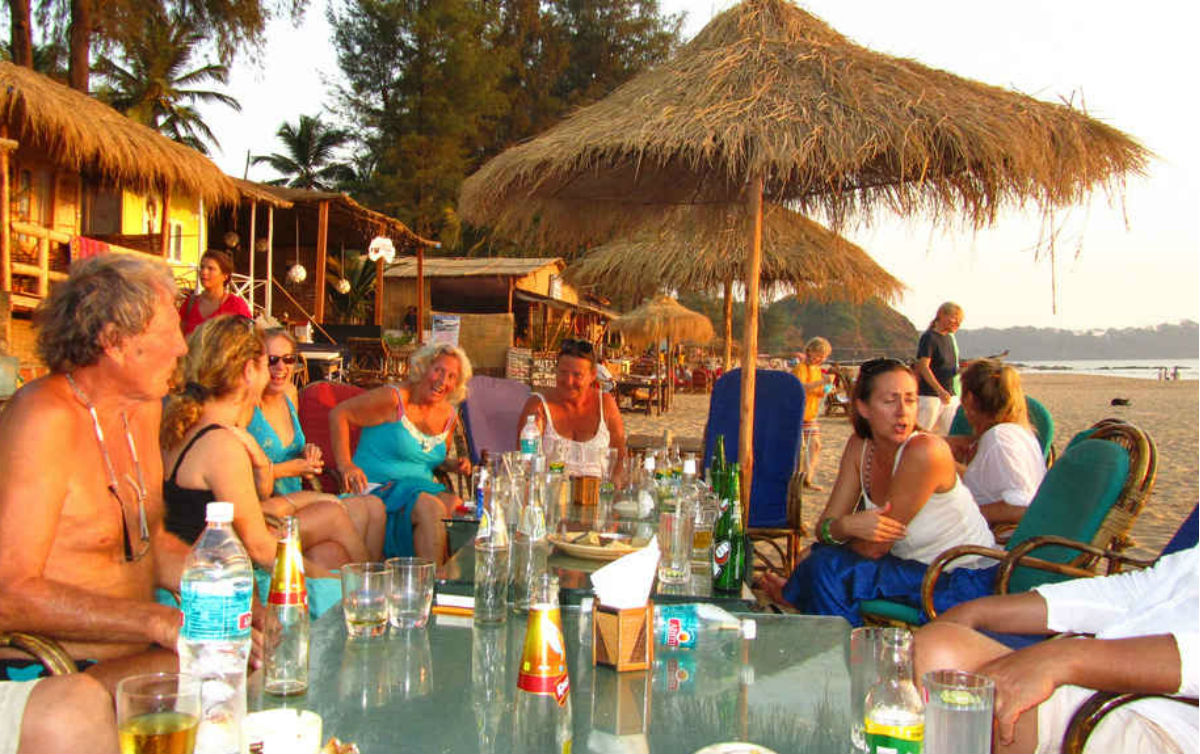 Foreigners in Goa 2