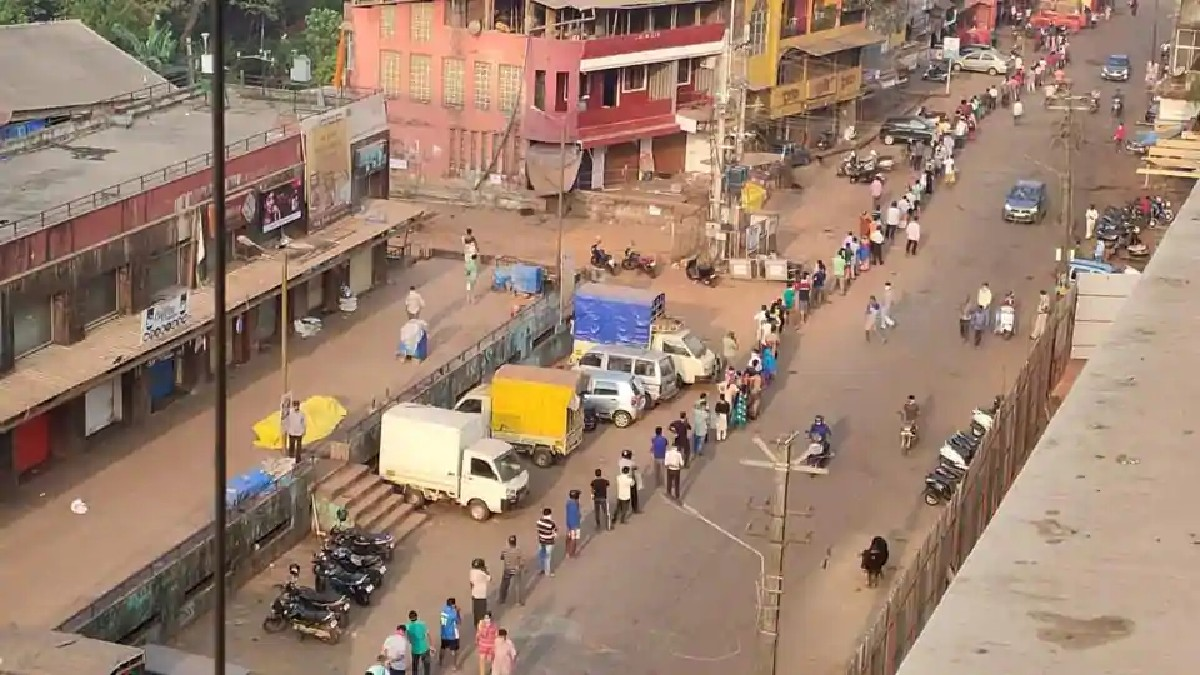 Goa Under Lockdown